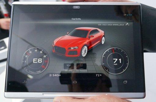 Mercedes, Audi und BMW integrieren mobile Endgeräte ins Auto