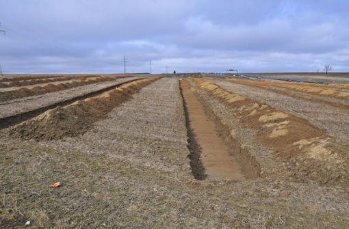 Letzte Gleise werden verlegt
