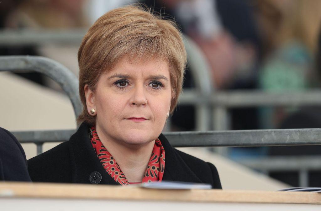 Regierungschefin Nicola Sturgeon würde gerne wieder Teil der EU sein. Foto: dpa