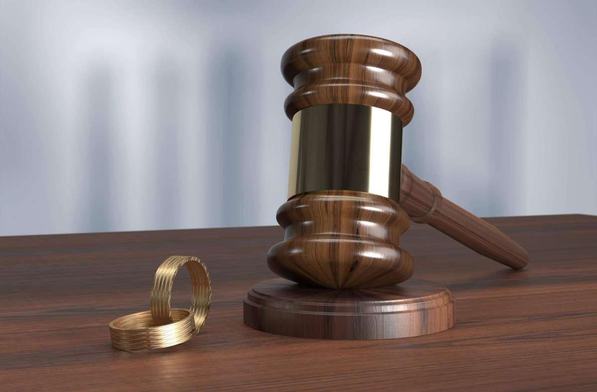 Die häufigsten Scheidungen  gab es im sechsten Ehejahr. (Symbolfoto) Foto: imago images/imagebroker//Stefan Klein via www.imago-images.de