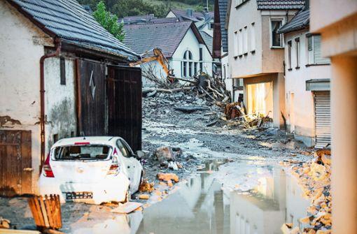 100 Kommunen kämpfen gegen die Flut