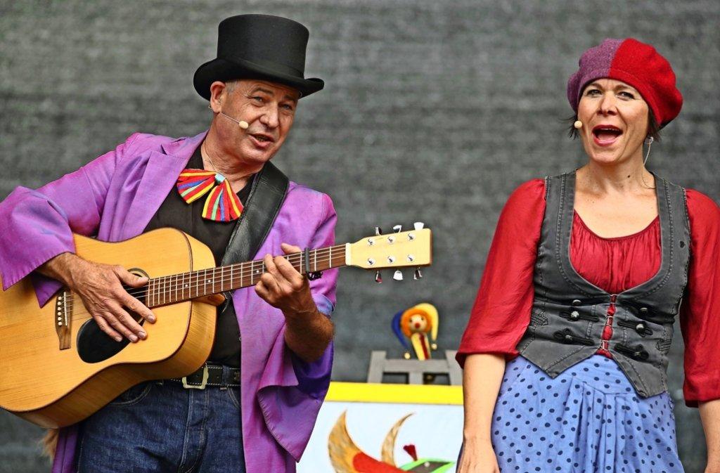 Christof und Vladislava Altmann sind im wahrsten Sinne des Wortes ein eingespieltes Team.   Foto:Beate Armbruster/z Foto: Beate Armbruster/z