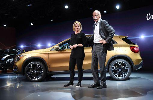 Premiere für die zweite Frau im Daimler-Vorstand