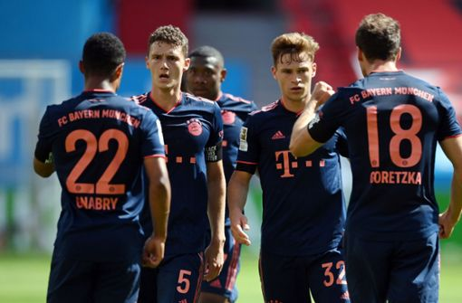 Nächster Bayern-Erfolg in Leverkusen – Leipzig nur Remis