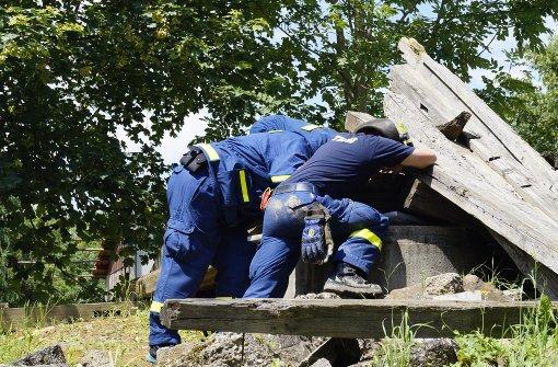 Verletzte aus Trümmern gerettet