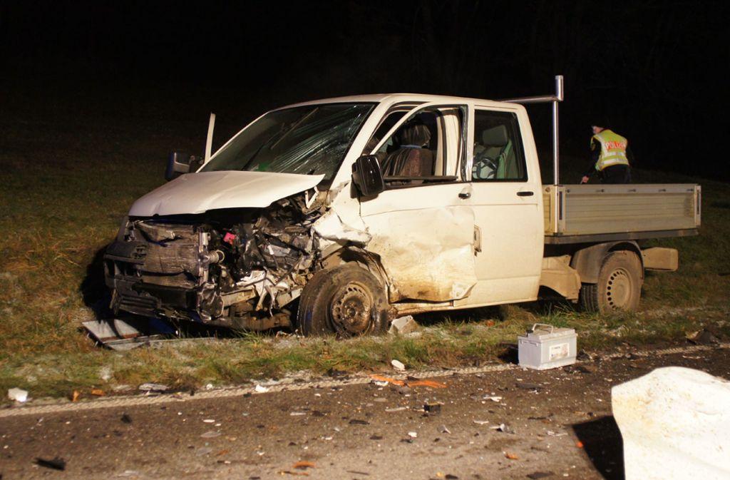 Nach dem Crash war der VW nicht mehr fahrtüchtig. Foto: SDMG/Schmidt