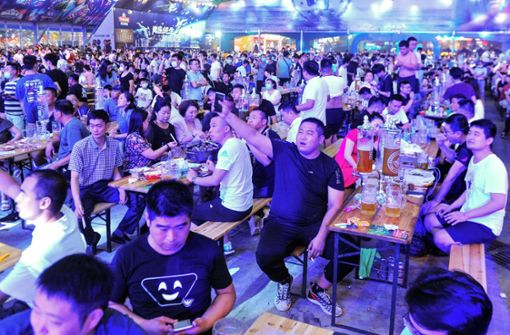 """O'zapft is! – China feiert schon wieder """"Oktoberfest"""""""