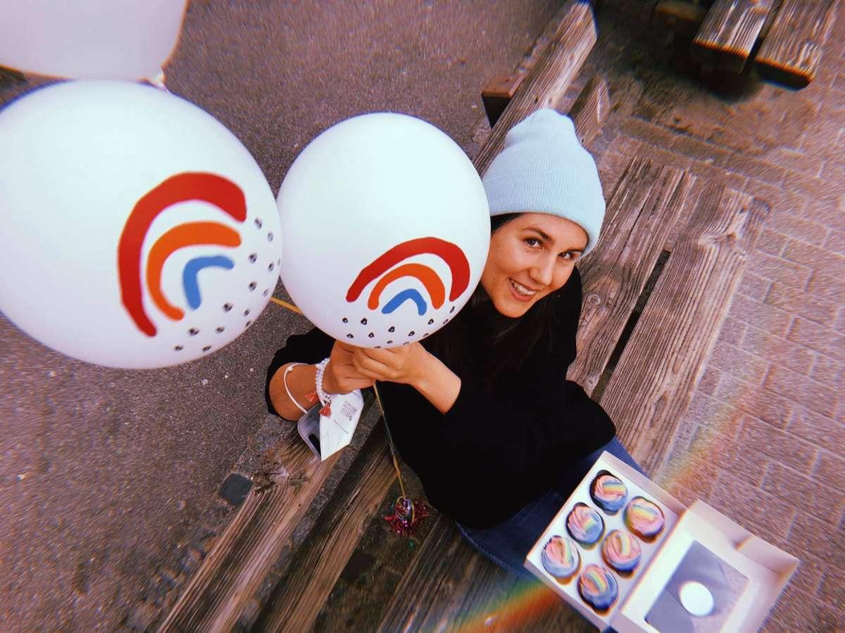 Yay – der Kleine Regenbogen feiert seinen ersten Geburtstag und das nicht irgendwie... Foto: Tanja Simoncev