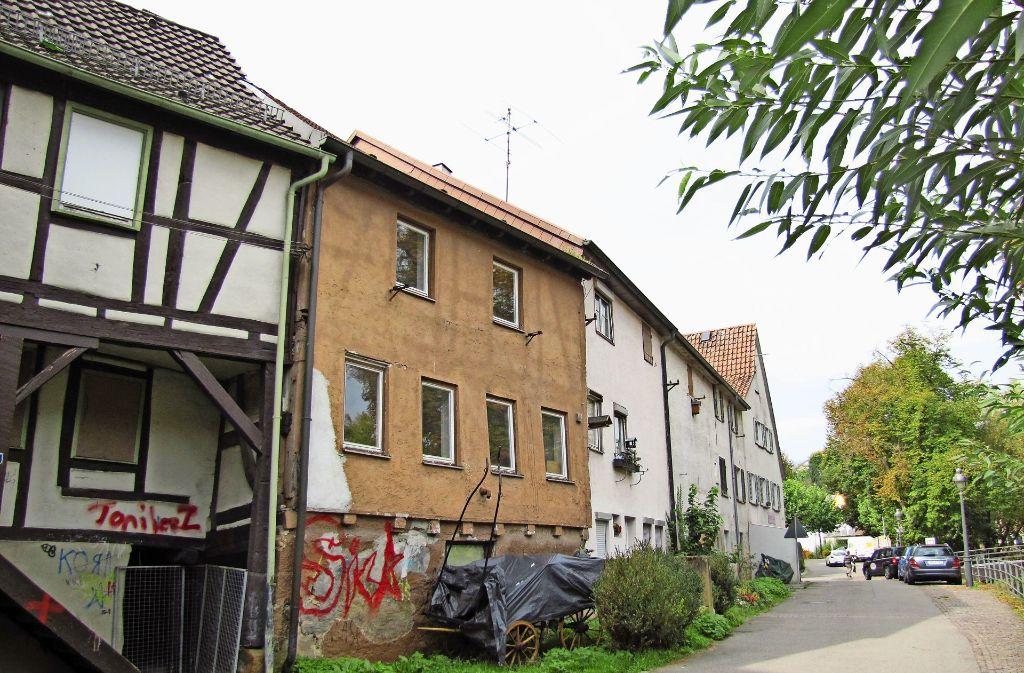 Die Häuser an der Hinteren (Foto) und Vorderen Seestraße sollen saniert werden. Foto: Barner