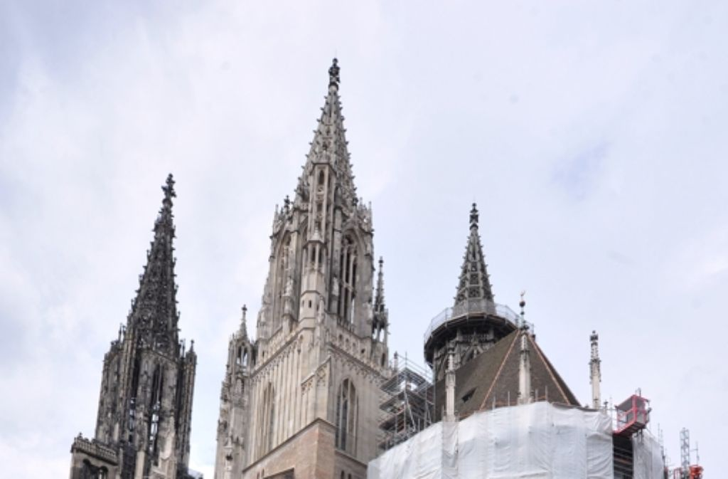 Das Ulmer Münster hat den höchsten Kirchturm der Welt – wie lange noch? Foto: dpa