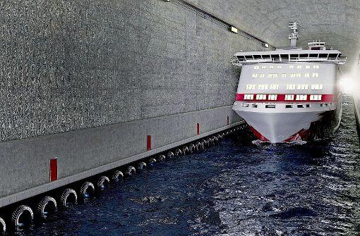 Der erste Schiffstunnel der Welt