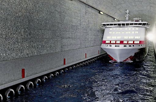 Der erste Tunnel für Hochseeschiffe