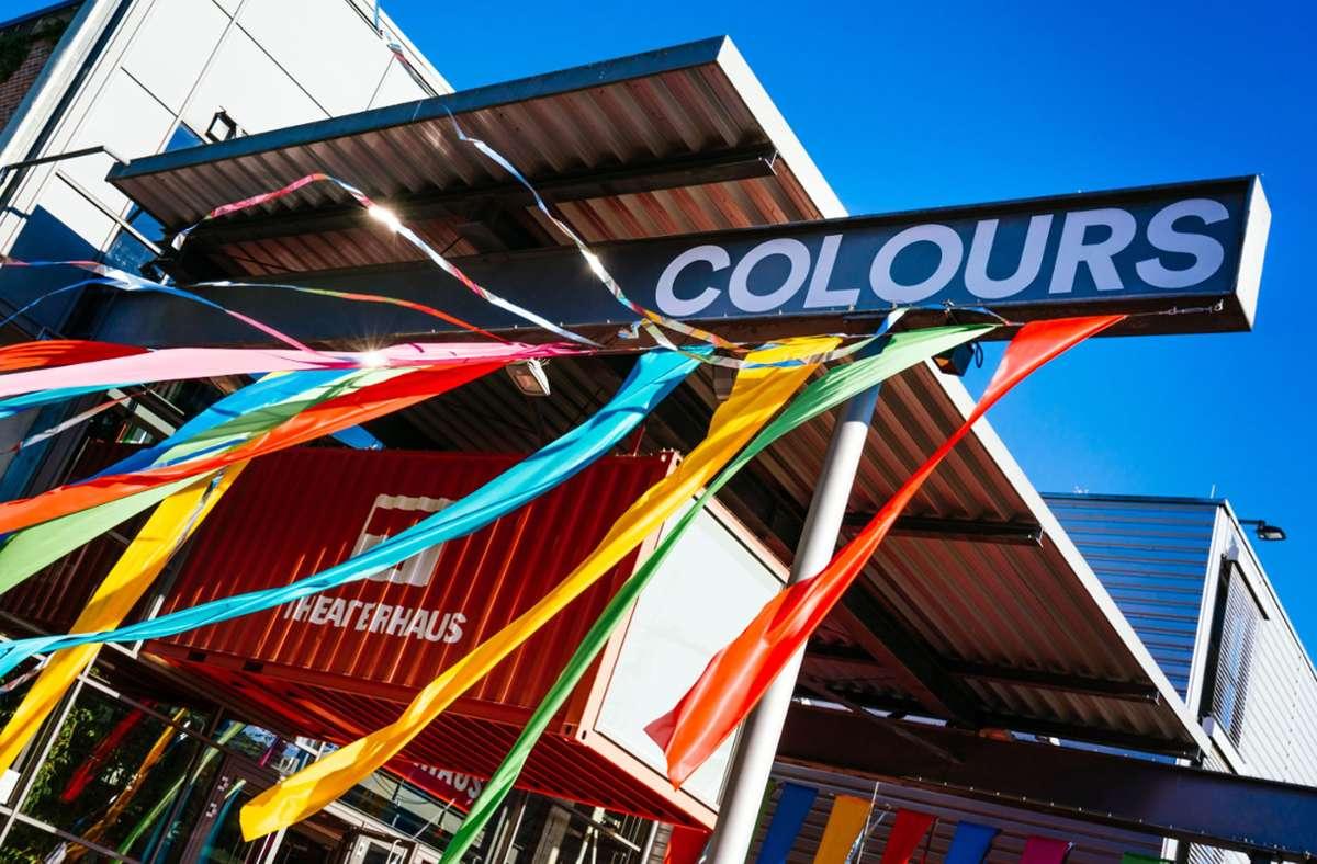 So hätte das Stuttgart Theaterhaus  im Juni wieder aussehen sollen  – doch wegen Corona wird das Tanzfestival Colours auf 2022 verschoben. Foto: Theaterhaus/Maks Richter