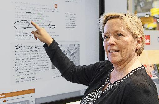 Ohrfeige vom Verwaltungsgerichtshof:  Kultusministerin Susanne Eisenmann (CDU) bekam eine Lektion in Sachen Fairness erteilt. Foto: dpa