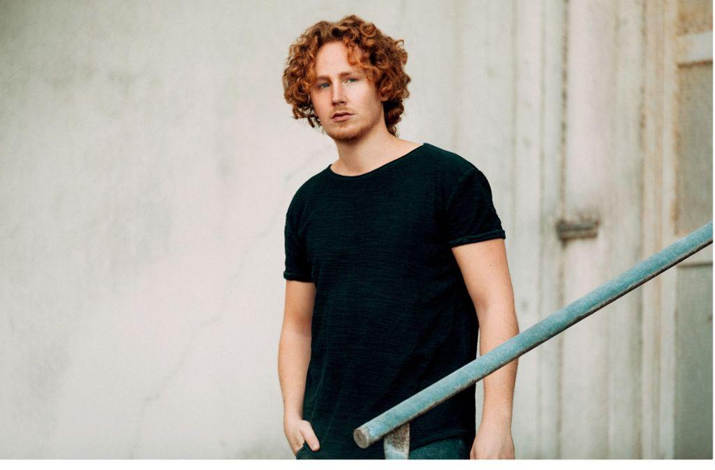 Michael Schulte hat durch den vierten Platz beim ESC im Jahr 2018 seinen Durchbruch gehabt. Beim ersten Steillagen-Festival in Weinstadt ist er mit seiner Band der Topact.Foto:Markus Haner Foto: