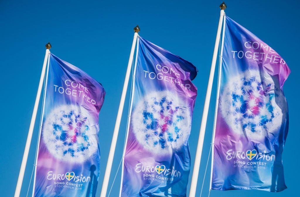 In Stockholm steigt in diesem Jahr des ESC-Finale. Foto: AFP