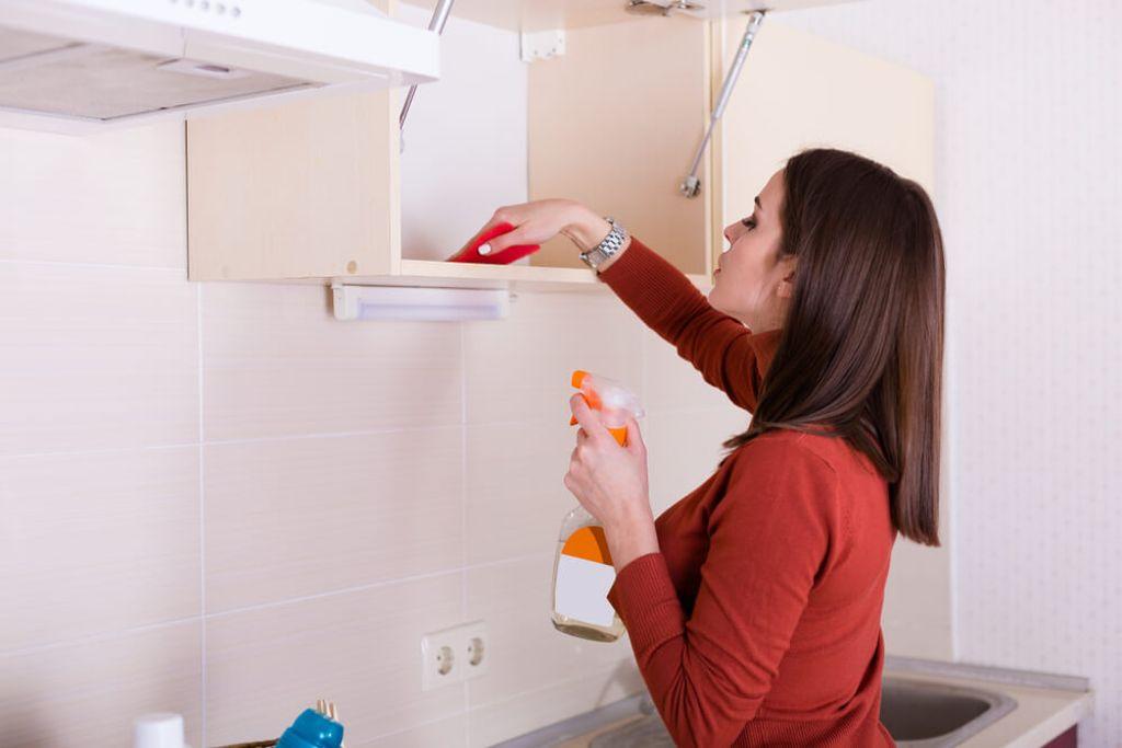 So glänzen die Schränke wieder. Foto: Tinatin / shutterstock.com