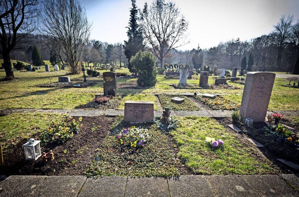 Findet wenig Zuspruch: der Dornhaldefriedhof zwischen Stuttgart-Süd und Degerloch. Foto: Lg, Zweygarth