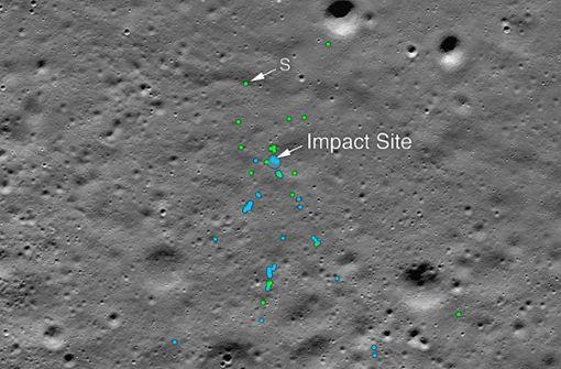 Nasa veröffentlicht Aufnahmen von indischem Mond-Modul