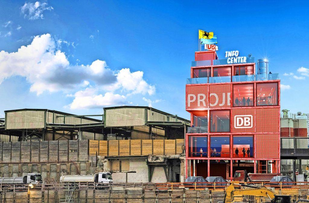 So könnten die neuen Ausstellungsräume am Bahnhof aussehen. Allerdings steht eine Finanzierung noch aus. Foto: Entwurf/Visualisierung: Heller Designstudio & Partner