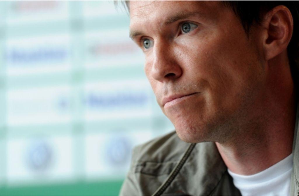 Alexander Hleb schaut nach vorne – Richtung Bundesliga. Foto: dpa