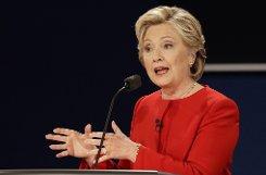 Clinton trumpft auf