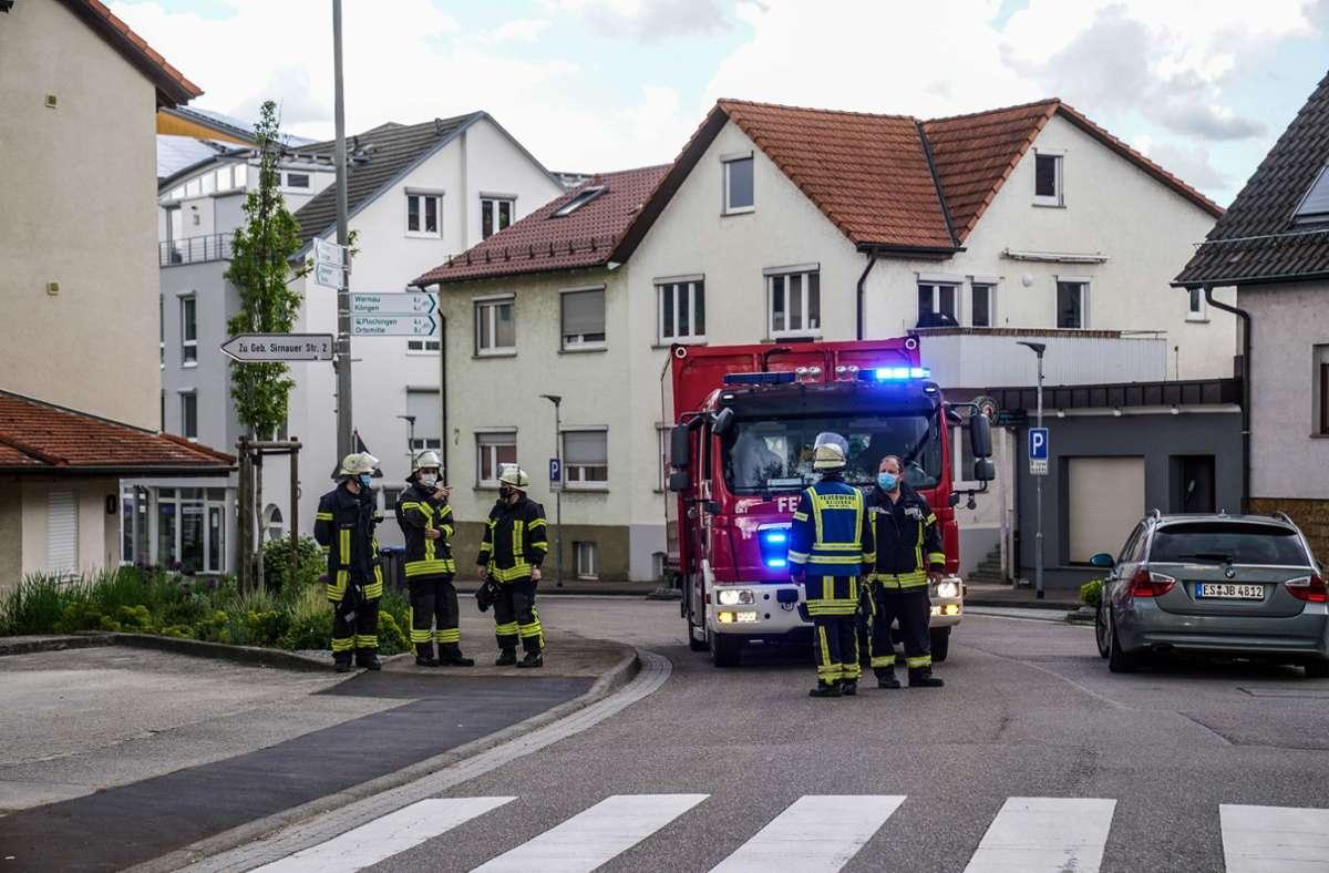 Am Freitagnachmittag wurde die Feuerwehr in Deizisau zu einem Scheunenbrand gerufen. Foto: SDMG/SDMG / Kohls
