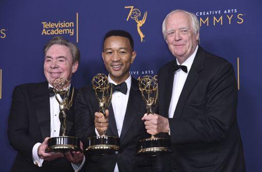 John Legend und Andrew Lloyd Webber erhalten Auszeichnung