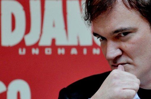 """Quentin Tarantino hat mit seinem """"Django""""-Film eine Debatte angestoßen. Foto: AFP"""