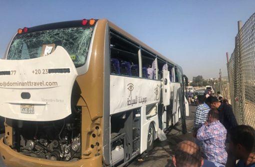 17 Menschen bei Anschlag auf Touristen-Bus verletzt