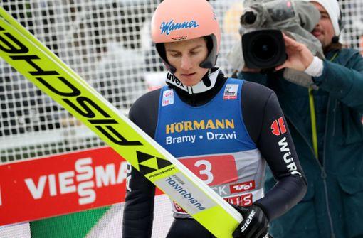 Großer Dämpfer für Geiger: Nur Platz acht in Innsbruck