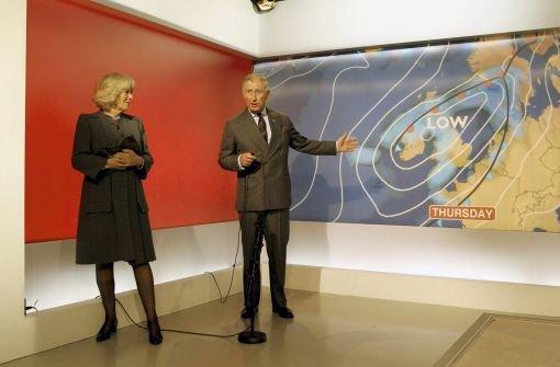 Charles und Camilla spielen Wetterfrosch im schottischen Fernsehen