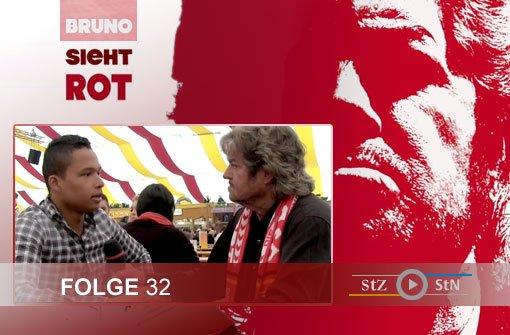 Bruno sieht rot: Im Zelt mit Romulo Kurányi