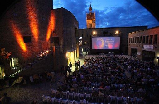Echte Freiluft-Cineasten sind wasserfest