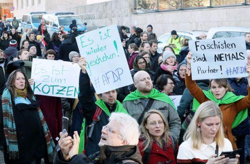 Politisches Erdbeben nach Thüringen-Wahl