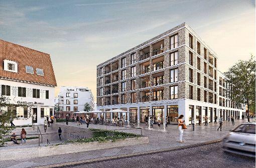 So stellt sich der Investor Formart die Neubebauung des Breuninger-Areals vor Foto: Formart