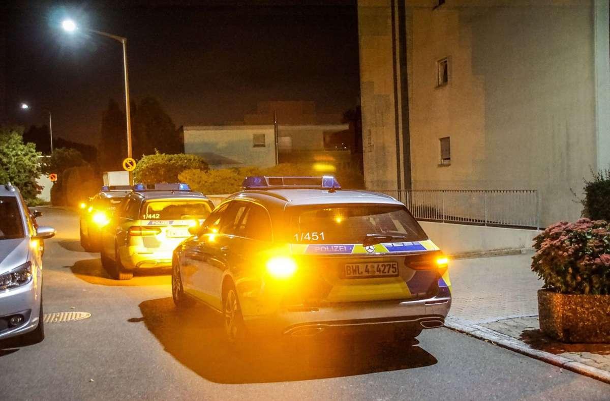 Die Polizei war mit zahlreichen Kräften im Einsatz. Foto: SDMG/SDMG / Dettenmeyer
