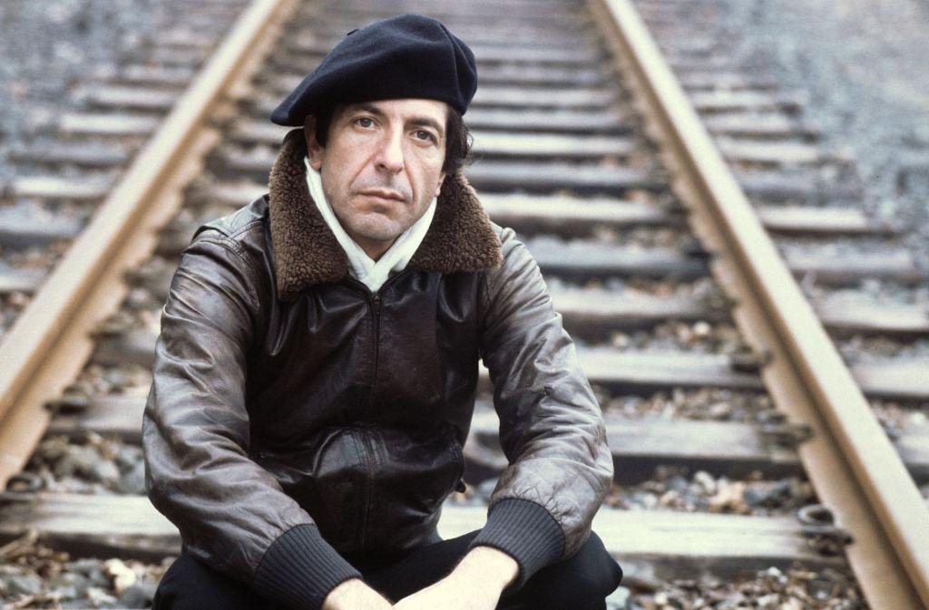 Leonard Cohen im Jahr 1976 Foto: dpa