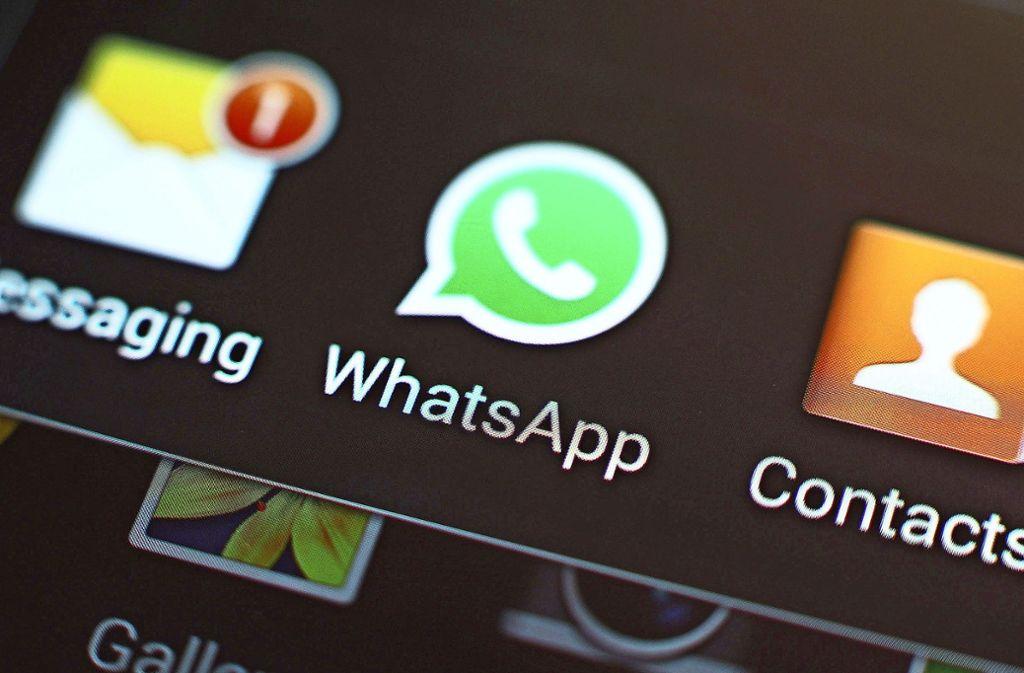 Wer mit WhatsApp chattet, sollte auf den Datenschutz achten. Foto: dpa/Yui Mok