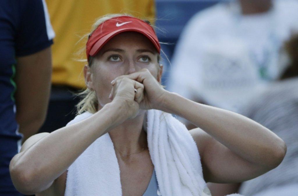 Maria Scharapowa zieht bei den US Open in die dritte Runde ein. Foto: EPA
