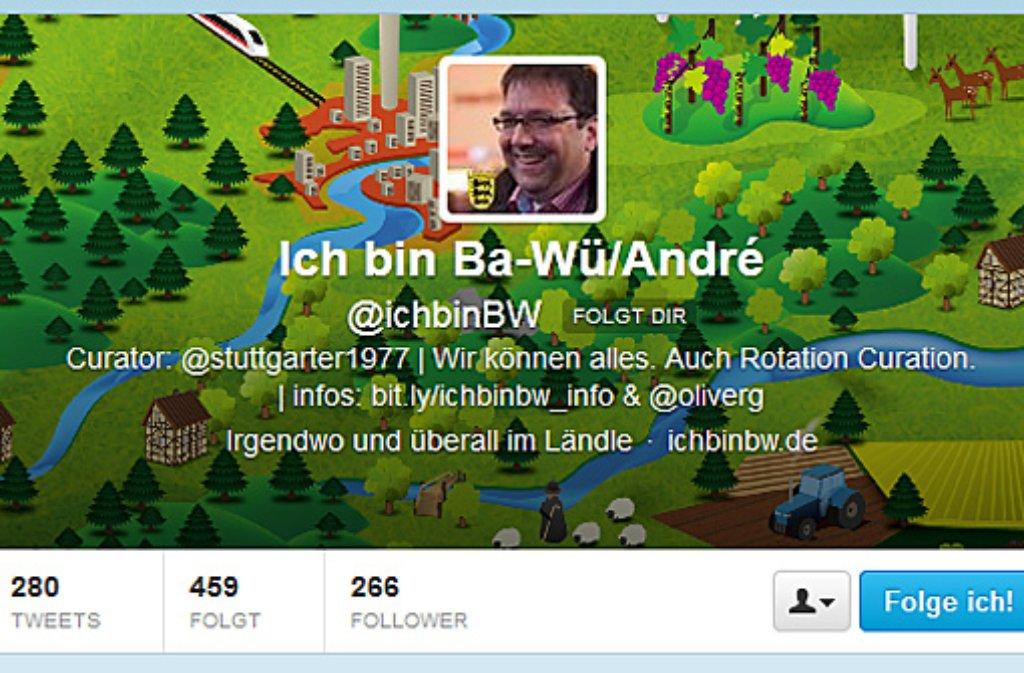 """Was Schweden oder München können, können wir hier auch: Beim Projekt """"Ich bin BW"""" zeigen wechselnde Twitterer die schönen Seiten Baden-Württembergs - diese Woche stellt André Dietenberger den Followern Stuttgart vor. Hier einige ... Foto: SIR/Screenshot"""