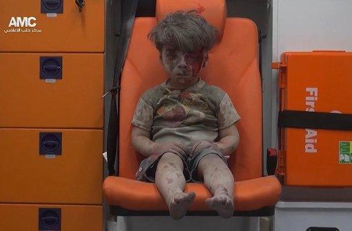 Dieses Foto wird zum Symbol des Kampfes um Aleppo