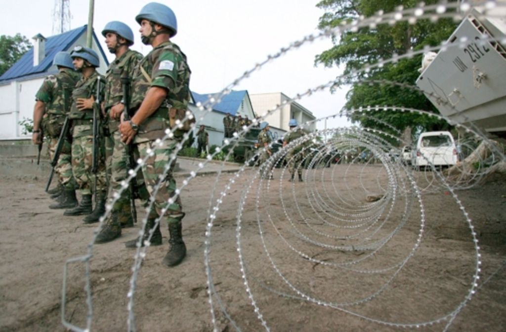 In der Zentralafrikanischen Republik sind derzeit mehr als 9300 Blauhelmsoldaten stationiert. Foto: dpa
