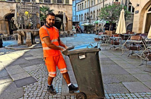 Stuttgarter Müllmänner auf WM-Niveau