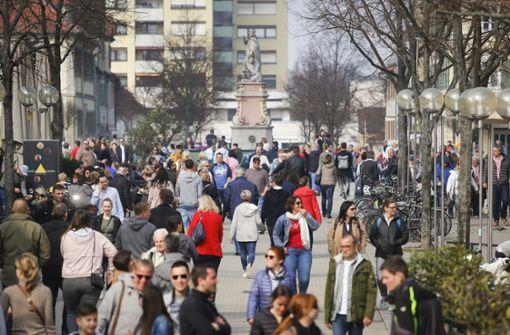 Shopping am Sonntag: Das letzte Märzklopfen in Ludwigsburg?