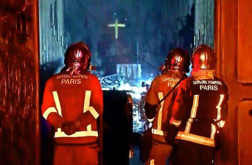 Eine Katastrophe eint Frankreich
