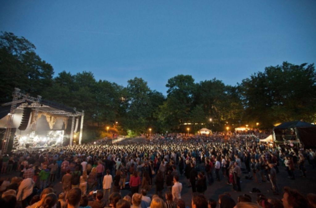 Die Freilichtbühne Killesberg gilt bei Veranstaltern und Publikum als Kleinod. Foto: Archiv