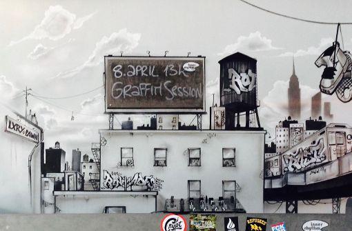 Graffiti-Session im Mos Eisley