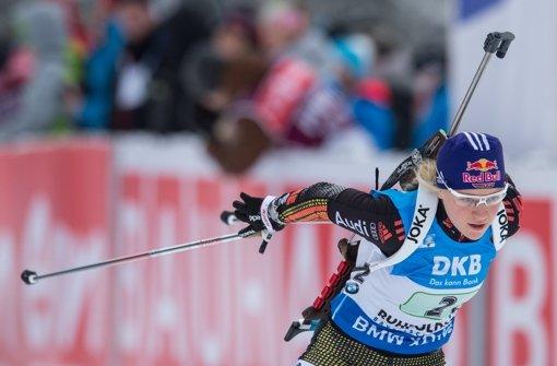 Gössner als Zehnte beste deutsche Biathletin