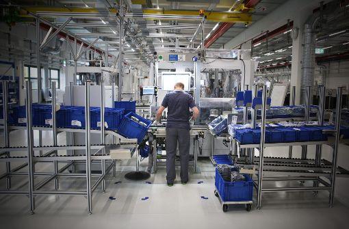 Arbeiten in der Industrie 4.0